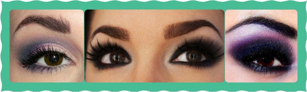 макияж смоки айс для карих глаз